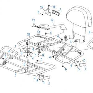 Багажные платформы для CFMOTO X4 Basic