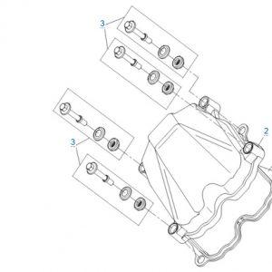 Крышка головки цилиндра CFMOTO X4 Basic