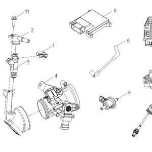 Система управления двигателем для CFMOTO X4 Basic