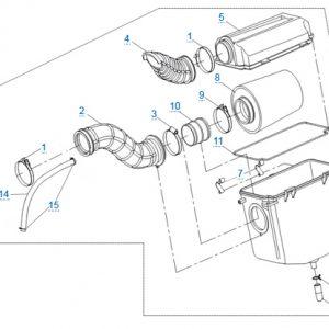 Воздушный фильтр CFMOTO X4 Basic