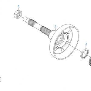 Механизм торможения двигателя