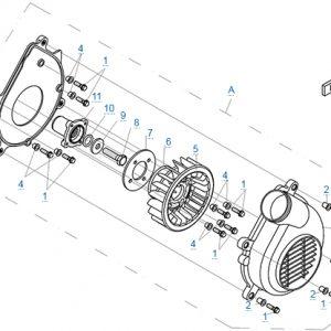 Вентилятор моторного отсека
