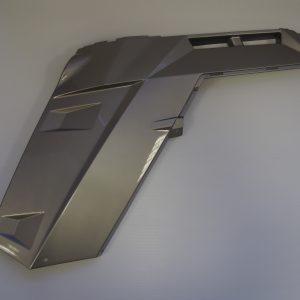 Крыло левое заднее Z6 (серый металлик)