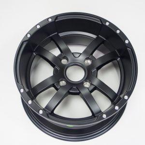 Диск колесный передний (черный матовый 14')